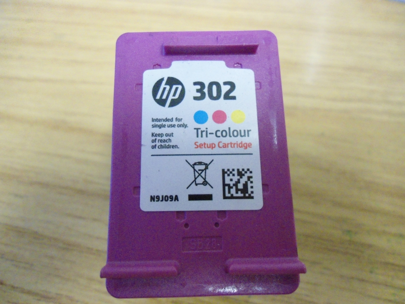 HP 302 Color (NOT SETUP H)  for