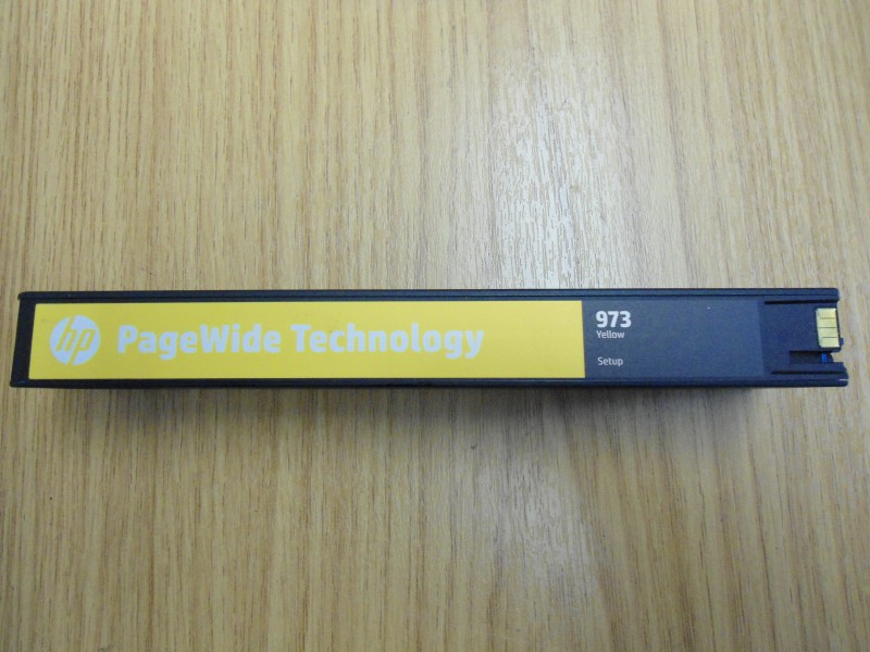 HP 973 Yellow INTRO for