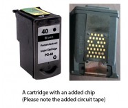 Canon PG-40 Black (EXTRA CHIP) Reman for