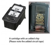 Canon PG-510 Black (EXTRA CHIP) Reman for
