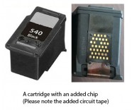 Canon PG-540 Black (EXTRA CHIP) Reman for