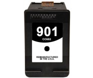 HP901 / CC563AE Black (REFILLED) for