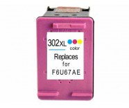HP302XL Colour / F6U67AE (REFILLED) for