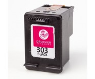 HP303 Black / T6N02AE (REFILLED) for