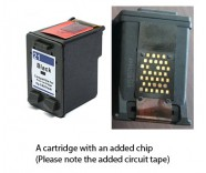 HP 21 / C9351AE Black (EXTRA CHIP) Reman for