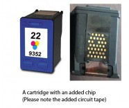 HP 22 / C9352AE Colour (EXTRA CHIP) Reman for