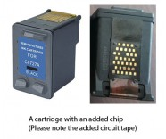 HP 27 / C8727AE Black (EXTRA CHIP) Reman for