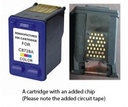 HP 28 / C8728AE Colour (EXTRA CHIP) Reman for