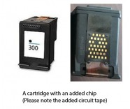 HP 300 / CC640EE Black (EXTRA CHIP) Reman for