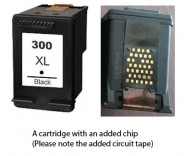 HP 300XL / CC641EE Black (EXTRA CHIP) Reman for