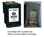 HP 302 Colour / F6U65AE (EXTRA CHIP) Reman for