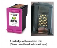 HP 302 Colour XL / F6U67AE (EXTRA CHIP) Reman for
