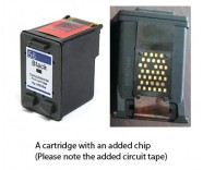 HP 56 / C6656A Black (EXTRA CHIP) Reman for