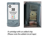 Canon CL-38 Colour (EXTRA CHIP) for