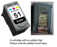 Canon CL-51 Colour (EXTRA CHIP) for
