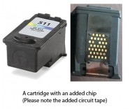 Canon CL-511 Colour (EXTRA CHIP) for