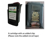 Canon CL-513 Colour (EXTRA CHIP) for