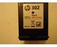 HP 302 / N9J11A Black (SETUP H / INSTANT) for