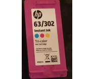 HP 63 / 302 E5Z01A Colour (INSTANT INK LARGE) for